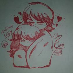 Kuro | I love Chuy by DinoDinoRex12