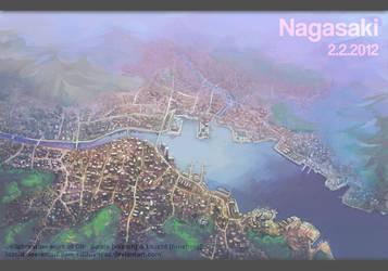 Nagasaki by Lazcht