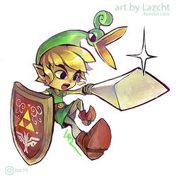 Minish Cap Link by Lazcht