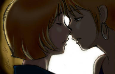 A Sisters Kiss by HanningCathan