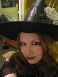 Spider witch makeup (Halloween 2012) by EmoHikaruChan