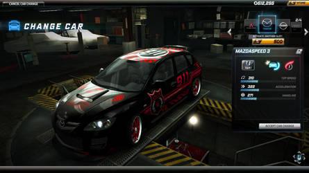 Mazda Cop Car by trial-the-echidna