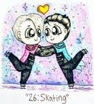 YOIInktober #26: Skating by AngelicArtistGirl