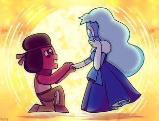 SHE PROPOSED!!! [SU SPOILERS] by AngelicArtistGirl