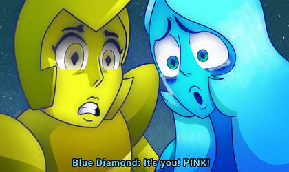 It's you! PINK! [SU SPOILERS] by AngelicArtistGirl