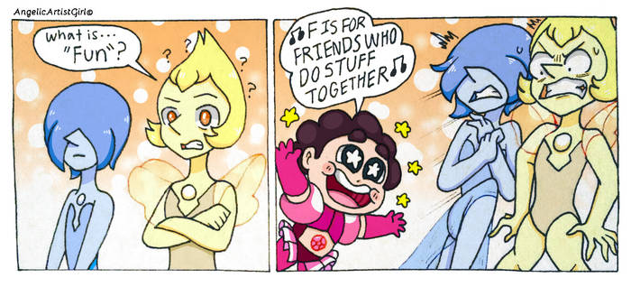 What is fun? [SU SPOILERS] by AngelicArtistGirl