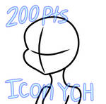 Icon YCH by AngelicArtistGirl