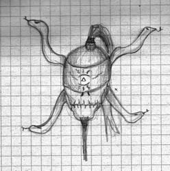Sketch - Zombie Ritualist by BladeBaT