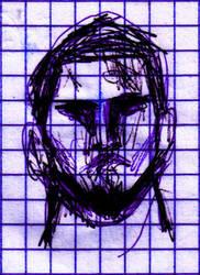 Rapid Sketch of Me by BladeBaT