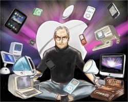 Steve Jobs by daraku48