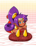 Shantae love (Re-upload) by LinkerLuis