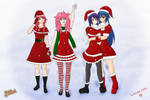 Christmas Collab 2012 by Azsalyn
