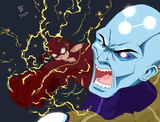 The Flash vs Supreme Brainiac  by Henil031