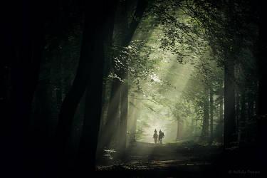 Morning Ride by Nelleke