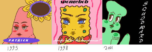 Spongebob Album Covers by yeewombocombo3000