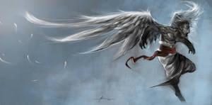 Winged Monkey by JBarrero
