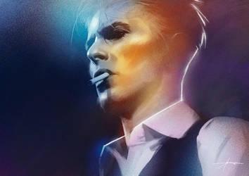 Bowie by JBarrero