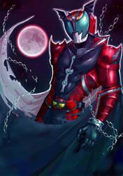 Kamen Rider Dark Kiva by Kiba068