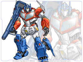 Optimus Prime re-design by Mecha-Zone