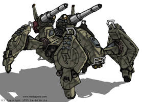 Mecha Zone: Crab Tank by Mecha-Zone