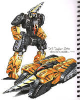 Drill Dasher fan art by Mecha-Zone