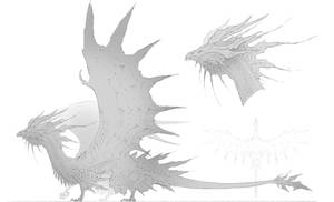 dragon concept by ChristopherOnciu