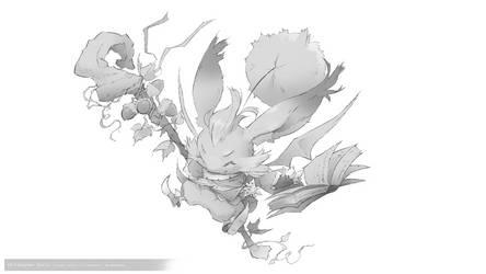 DS:002 - FFTA montblanc fan art by ChristopherOnciu