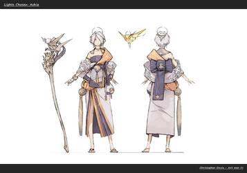 Character Design: Ashia by ChristopherOnciu