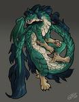 Amelyne dragon by TeaDarkA