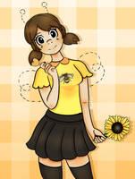 Save the bees! by Nekopurino