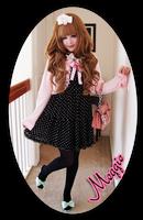 Polkadot Princess ID by SweetiexCakes