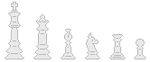 Chess Divider White 1 by zneakii