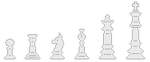 Chess Divider White 2 by zneakii