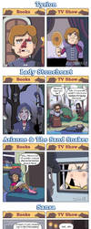DORKLY: Game of Thrones Books vs. Show by GeorgeRottkamp