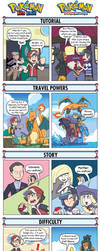 DORKLY: Pokemon Red/Blue VS Pokemon Sun/Moon by GeorgeRottkamp