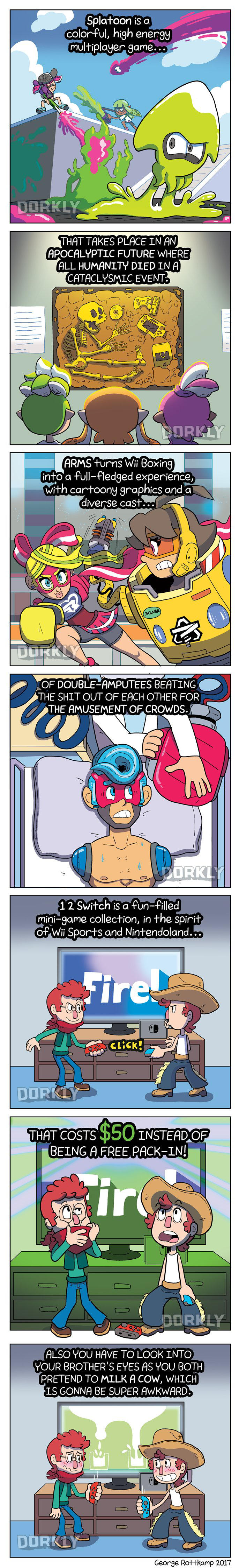 DORKLY: Nintendo's Franchises Are Getting Dark by GeorgeRottkamp