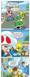 DORKLY: The Disturbing Secret of Every Mario Kart by GeorgeRottkamp