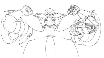 Robotnik Gorilla by Metal-Skotty
