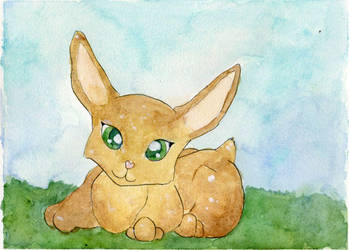 Caramel Bunny by Starrydance