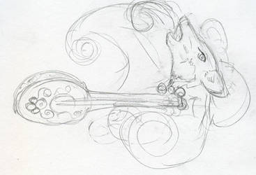 Daily Sketch - Instrument 2 by Starrydance