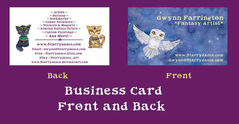 Business Card Final Form by Starrydance