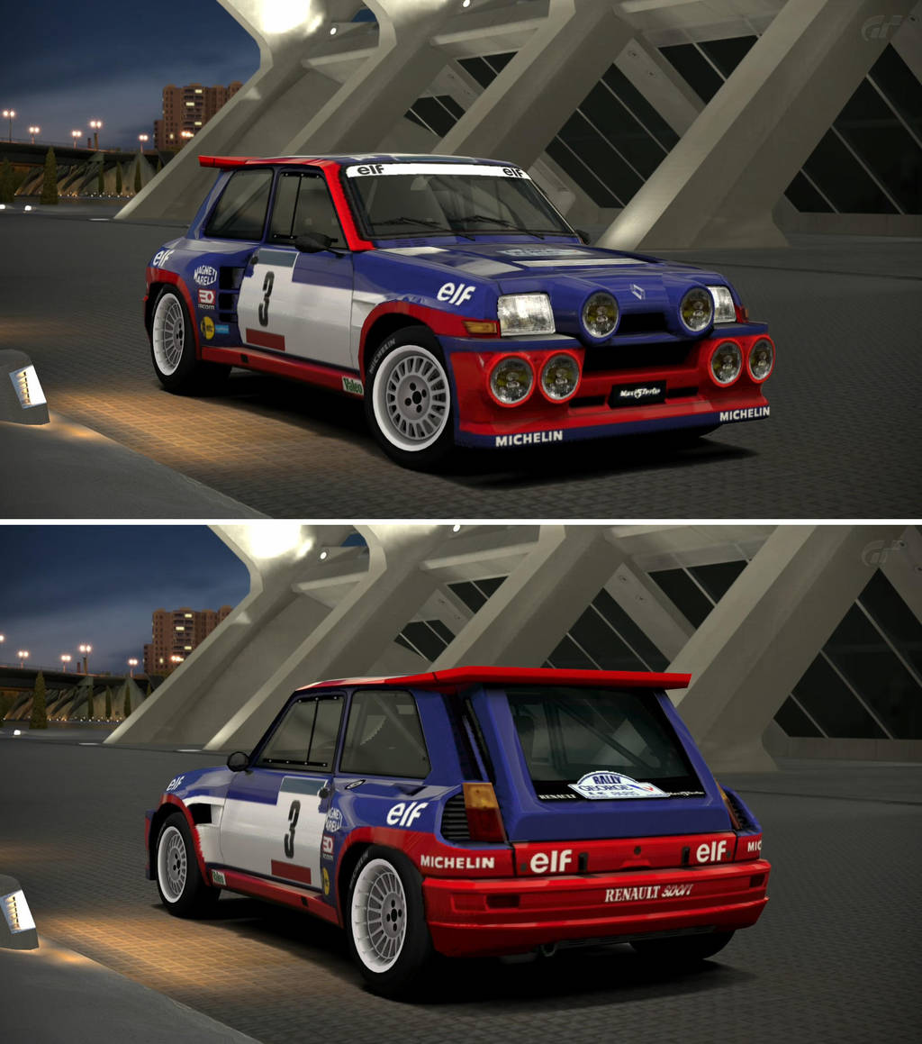 Renault Sport: Renault Sport R5 Turbo Rallye '85 By GT6-Garage On DeviantArt