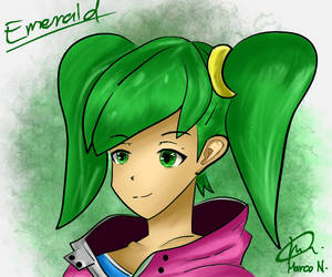 Emerald by MarcoNisnisan