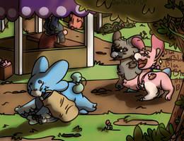 SHOPPING!!!|Wyngro|DaHuskyPup-Draws by DaHuskyPup-Draws