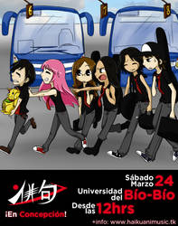 Haiku de gira a Concepcion by KamE-pig
