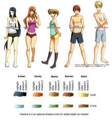 Fanime Character Sheet by fanimecon