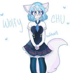 Wolfychu by kaidensu by YearlingDrawings
