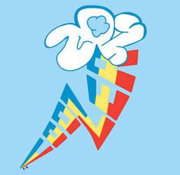 20% Cooler 1.0 Rainbow Dash Cutie Mark by sallycars