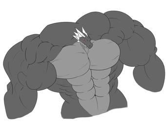 Kei buff torso practice by k-a-y-dee6678