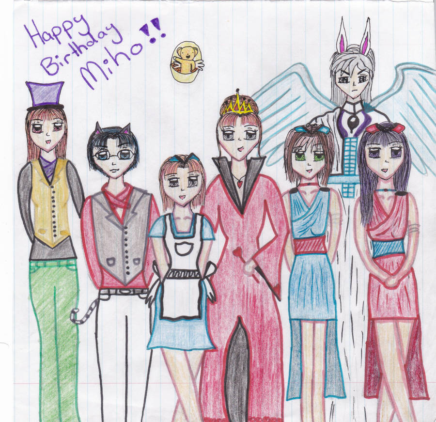 Miho's Alice n wonderland Birthday party in COLOUR by Lana-445